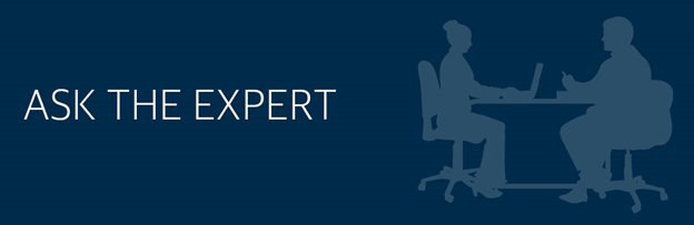 Ask The Expert - Header Image